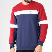 /achat-sweats-col-rond-crewneck/fila-sweat-crewneck-norbin-682353-bleu-marine-rouge-blanc-145241.html