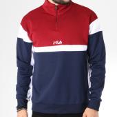 /achat-sweats-col-zippe/fila-sweat-herron-682356-bleu-marine-bordeaux-blanc-145278.html