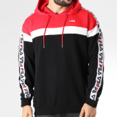 /achat-sweats-capuche/fila-sweat-capuche-bande-brodee-robben-tape-682366-noir-blanc-rouge-145313.html