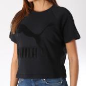/achat-t-shirts/puma-tee-shirt-femme-downtown-576728-noir-145233.html