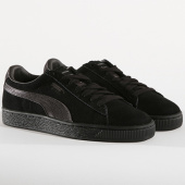 /achat-baskets-basses/puma-baskets-femme-suede-classic-satin-367829-01-black-aged-silver-145275.html