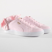 /achat-baskets-basses/puma-baskets-femme-bow-patent-368118-03-cradle-pink-white-145280.html