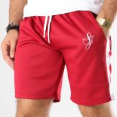 /achat-shorts-jogging/sixth-june-short-jogging-bande-brodee-m3462cpa-bordeaux-blanc-145386.html