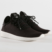/achat-baskets-basses/adidas-baskets-tennis-hu-pharrell-williams-aq1056-core-black-chalk-white-145471.html