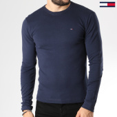 /achat-t-shirts-manches-longues/tommy-hilfiger-jeans-tee-shirt-manches-longues-original-03147-bleu-marine-145445.html