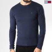 /achat-t-shirts-manches-longues/tommy-hilfiger-jeans-tee-shirt-manches-longues-original-03147-bleu-marine-145445.html