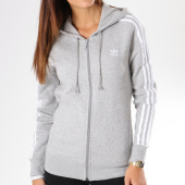 https://www.laboutiqueofficielle.com/achat-sweats-zippes-capuche/sweat-zippe-capuche-femme-3-stripes-dn8155-gris-chine-145498.html