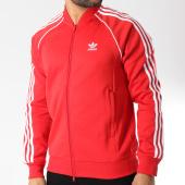 /achat-vestes/adidas-veste-zippee-avec-bandes-brodees-sst-dh5824-rouge-blanc-145765.html