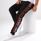 /achat-pantalons-joggings/versace-jeans-pantalon-jogging-sup314-print-noir-blanc-rouge-145523.html