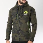 /achat-sweats-zippes-capuche/canadian-peak-sweat-zippe-gadigan-vert-kaki-camouflage-145826.html