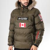 /achat-doudounes/canadian-peak-doudoune-fourrure-patchs-brodes-boreak-vert-kaki-145853.html