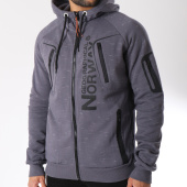 /achat-sweats-zippes-capuche/geographical-norway-sweat-zippe-capuche-gantaga-gris-anthracite-chine-145805.html