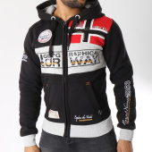 /achat-sweats-zippes-capuche/geographical-norway-sweat-zippe-capuche-flyer-noir-145818.html