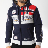 /achat-sweats-zippes-capuche/geographical-norway-sweat-zippe-capuche-flyer-bleu-marine-145830.html