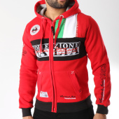 /achat-sweats-zippes-capuche/geographical-norway-sweat-zippe-capuche-flitaly-rouge-145841.html