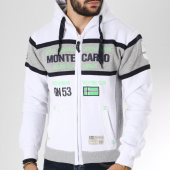 /achat-sweats-zippes-capuche/geographical-norway-sweat-zippe-capuche-ganton-blanc-145856.html