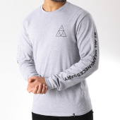 /achat-t-shirts-manches-longues/huf-tee-shirt-manches-longues-essentials-triple-triangle-gris-chine-145937.html