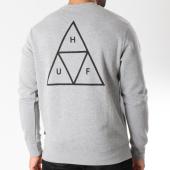 /achat-sweats-col-rond-crewneck/huf-sweat-crewneck-essentials-triple-triangle-gris-chine-145945.html