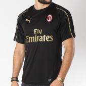 /achat-t-shirts/puma-tee-shirt-de-sport-ac-milan-training-jersey-754459-noir-dore-145793.html