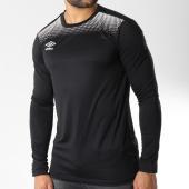 /achat-t-shirts-manches-longues/umbro-tee-shirt-de-sport-manches-longues-print-jersey-noir-blanc-145892.html