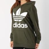 /achat-sweats-capuche/adidas-sweat-capuche-oversize-femme-trefoil-dh3137-vert-kaki-146086.html