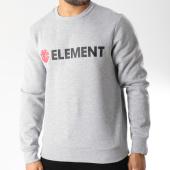/achat-sweats-col-rond-crewneck/element-sweat-crewneck-blazin-gris-chine-146031.html