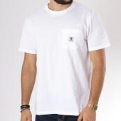 /achat-t-shirts-poche/element-tee-shirt-poche-basic-pocket-label-blanc-146050.html