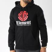 /achat-sweats-zippes-capuche/element-sweat-zippe-capuche-vertical-noir-146067.html