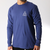 /achat-t-shirts-manches-longues/huf-tee-shirt-manches-longues-essentials-triple-triangle-bleu-145960.html