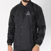 /achat-vestes/huf-veste-essentials-logo-coach-noir-145965.html
