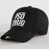/achat-casquettes-de-baseball/pso-thug-casquette-logo-noir-blanc-146027.html