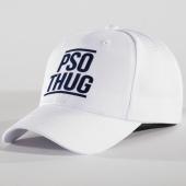 /achat-casquettes-de-baseball/pso-thug-casquette-logo-blanc-bleu-marine-146028.html