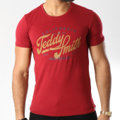 /achat-t-shirts/teddy-smith-tee-shirt-tengo-logo-bordeaux-146019.html