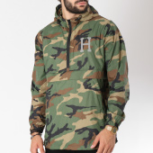 /achat-coupe-vent/huf-coupe-vent-fourth-vert-kaki-camouflage-146157.html