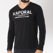 /achat-t-shirts-manches-longues/kaporal-tee-shirt-manches-longues-shine-noir-146158.html