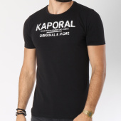 /achat-t-shirts/kaporal-tee-shirt-since-noir-146162.html