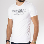 /achat-t-shirts/kaporal-tee-shirt-since-blanc-146164.html