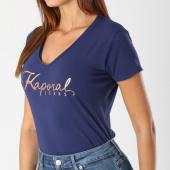 https://www.laboutiqueofficielle.com/achat-t-shirts/tee-shirt-femme-tine-bleu-marine-146168.html