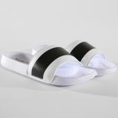 /achat-claquettes-sandales/classic-series-claquettes-dash-blanc-noir-146263.html