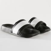 /achat-claquettes-sandales/classic-series-claquettes-dash-noir-blanc-146264.html