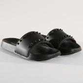 /achat-claquettes-sandales/classic-series-claquettes-spikes-noir-146276.html
