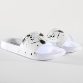 /achat-claquettes-sandales/classic-series-claquettes-splash-blanc-noir-146280.html