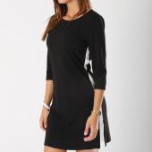 /achat-robes/only-robe-avec-bandes-femme-brillant-34-noir-146247.html