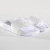 /achat-claquettes-sandales/puma-claquettes-femme-leadcat-patent-367282-02-blanc-146281.html