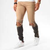 /achat-jeans/project-x-jean-skinny-troue-88179995-beige-degrade-noir-146335.html
