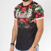 /achat-t-shirts-longs-oversize/uniplay-tee-shirt-oversize-t351-noir-vert-floral-146369.html