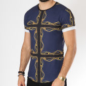 /achat-t-shirts-longs-oversize/uniplay-tee-shirt-oversize-t356-bleu-marine-renaissance-146375.html