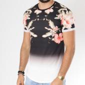 /achat-t-shirts-longs-oversize/uniplay-tee-shirt-oversize-t355-noir-degrade-blanc-floral-146380.html