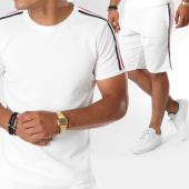 /achat-ensembles-survetement/classic-series-ensemble-tee-shirt-short-jogging-bandes-brodees-mm122-blanc-noir-rouge-146511.html