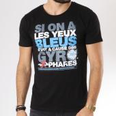 /achat-t-shirts/neochrome-tee-shirt-yeux-bleus-noir-146517.html